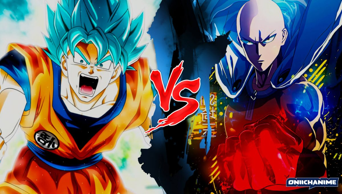 Goku vs Saitama (Dragon Ball Super y One Punch Man)