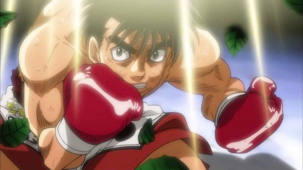 Los mejores animes de deporte (Hajime no Ippo)