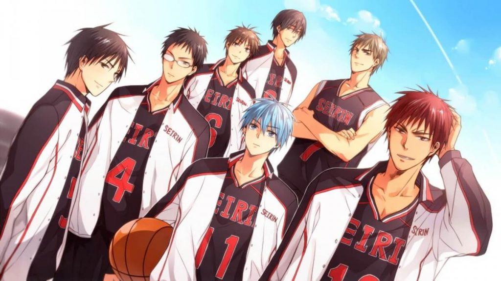 Los mejores animes de deporte (Kuroko no Basket)