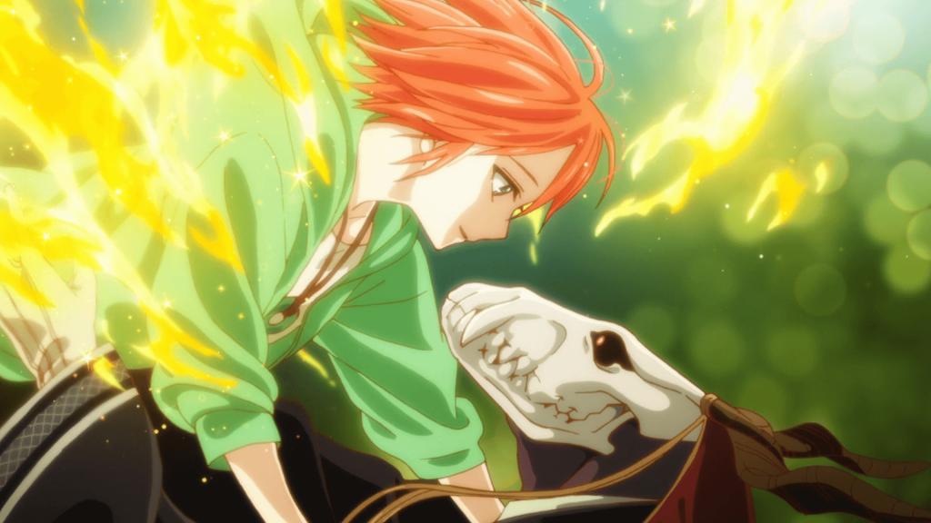 Los mejores animes Shōnen de 2017 (Mahoutsukai no Yome)