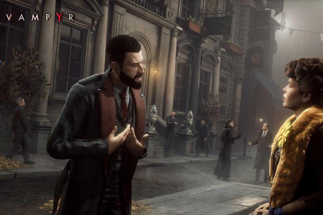 Los mejores videojuegos de vampiros (Vampyr)