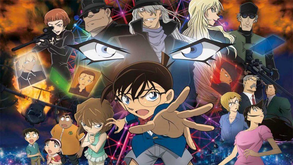 Los personajes de anime más inteligentes (Conan de Detective Conan)