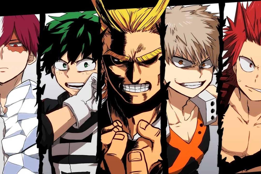 Los mejores animes de acción Primavera 2018 (Boku no Hero Academia (3ra temporada))