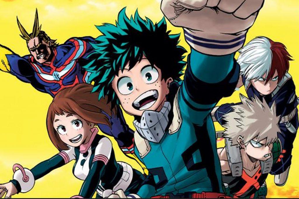Los mejores mangas de acción (Boku no Hero Academia)