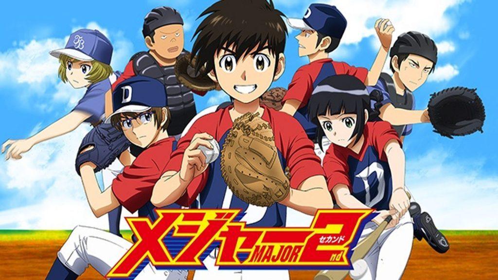 Los mejores animes de Deportes Primavera 2018 (Major 2nd TV)