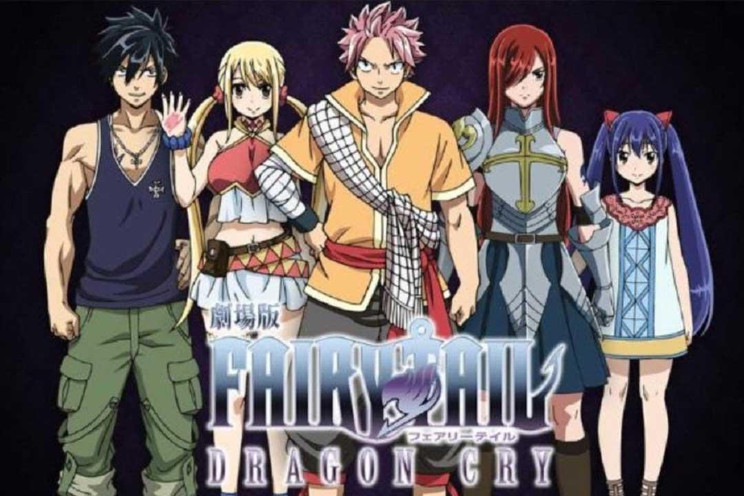 Las mejores películas de Magia del anime (Fairy Tail Movie 2: Dragon Cry)