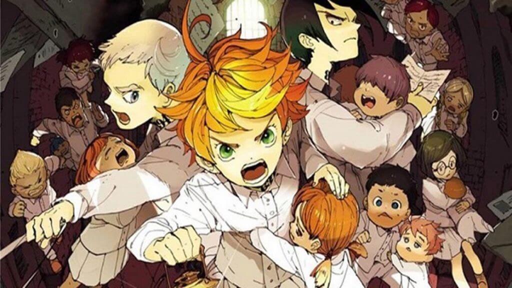 Los mejores mangas de Misterio (Yakusoku no Neverland)