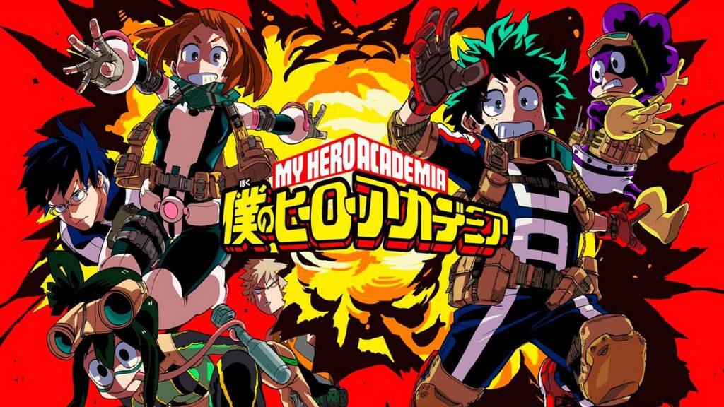 Gai sensei contra All Might (Naruto Shippuden y Boku no Hero Academia)