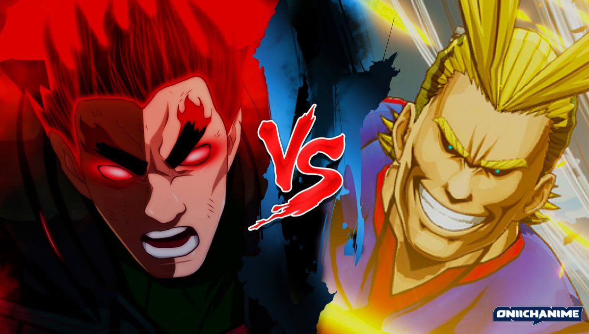 Gai Sensei vs All Might (Naruto Shippuden y Boku no Hero Academia)