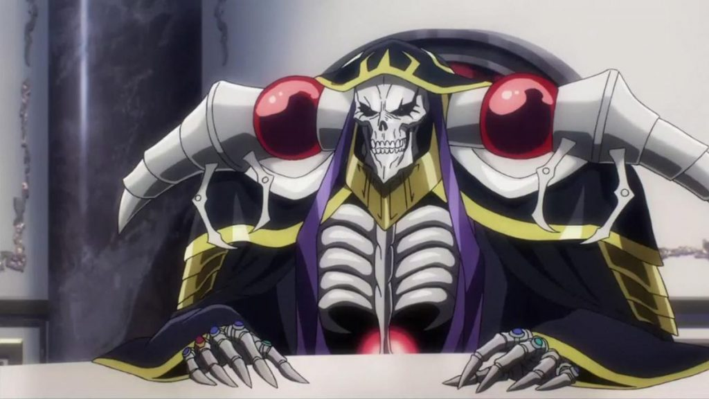 Las mejores criaturas del anime que utilizan Magia (Momonga)