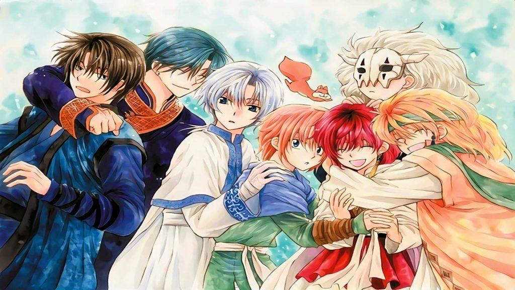 Las mejores novelas ligeras de Aventura (Akatsuki no Yona)