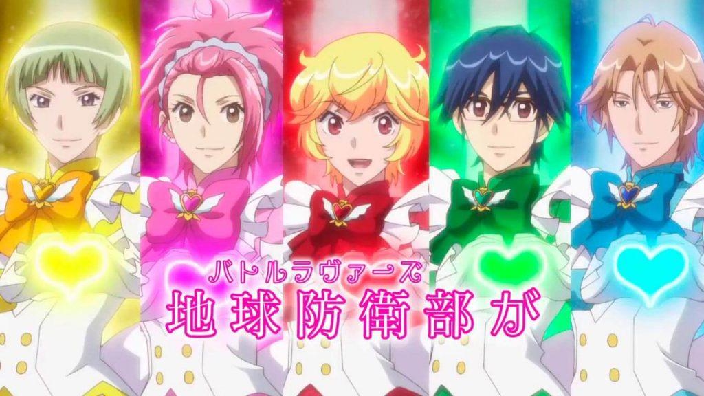 Los mejores OVA's de Magia del anime (Binan Koukou Chikyuu Boueibu LOVE! LOVE! LOVE!)
