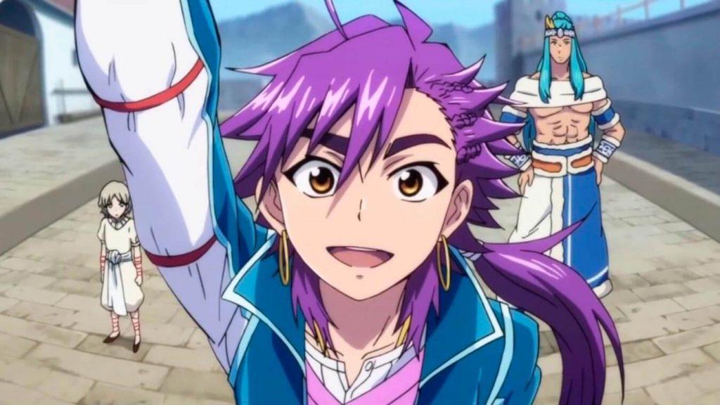 Los mejores OVA's de Magia del anime (Magi: Sinbad no Bouken)