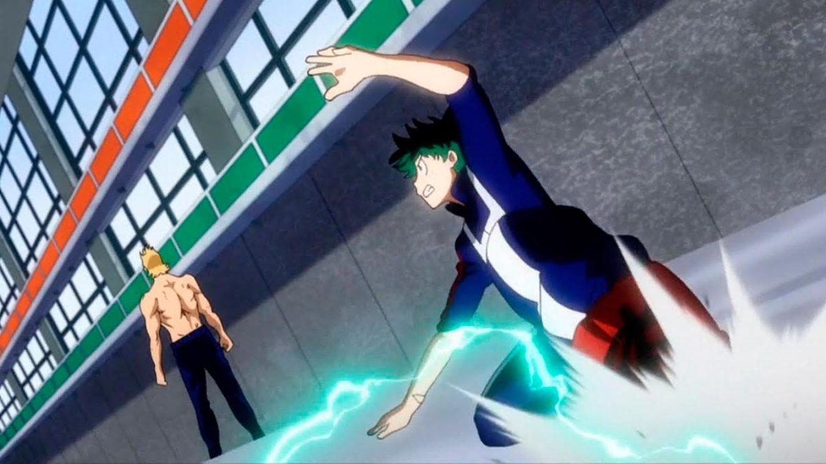 Boku no Hero Academia (Clase 1-A vs. Mirio Togata)