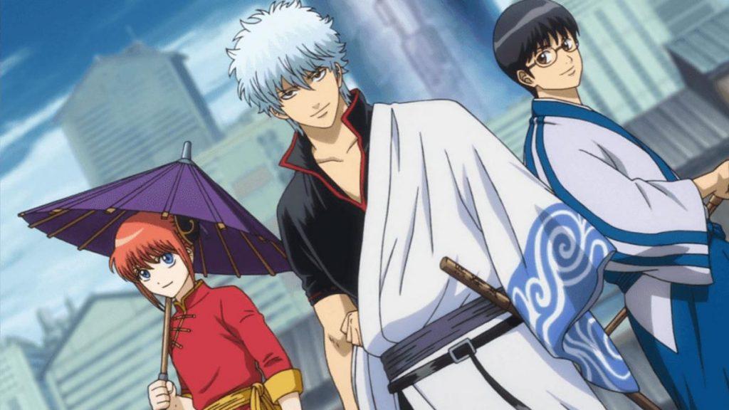 Los mejores animes de Acción de 2018 (Gintama.: Shirogane no Tamashii-hen)