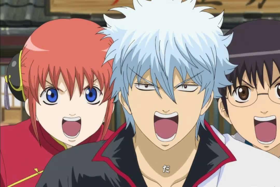 Los mejores animes Shounen (Gintama (Gintama season 5))