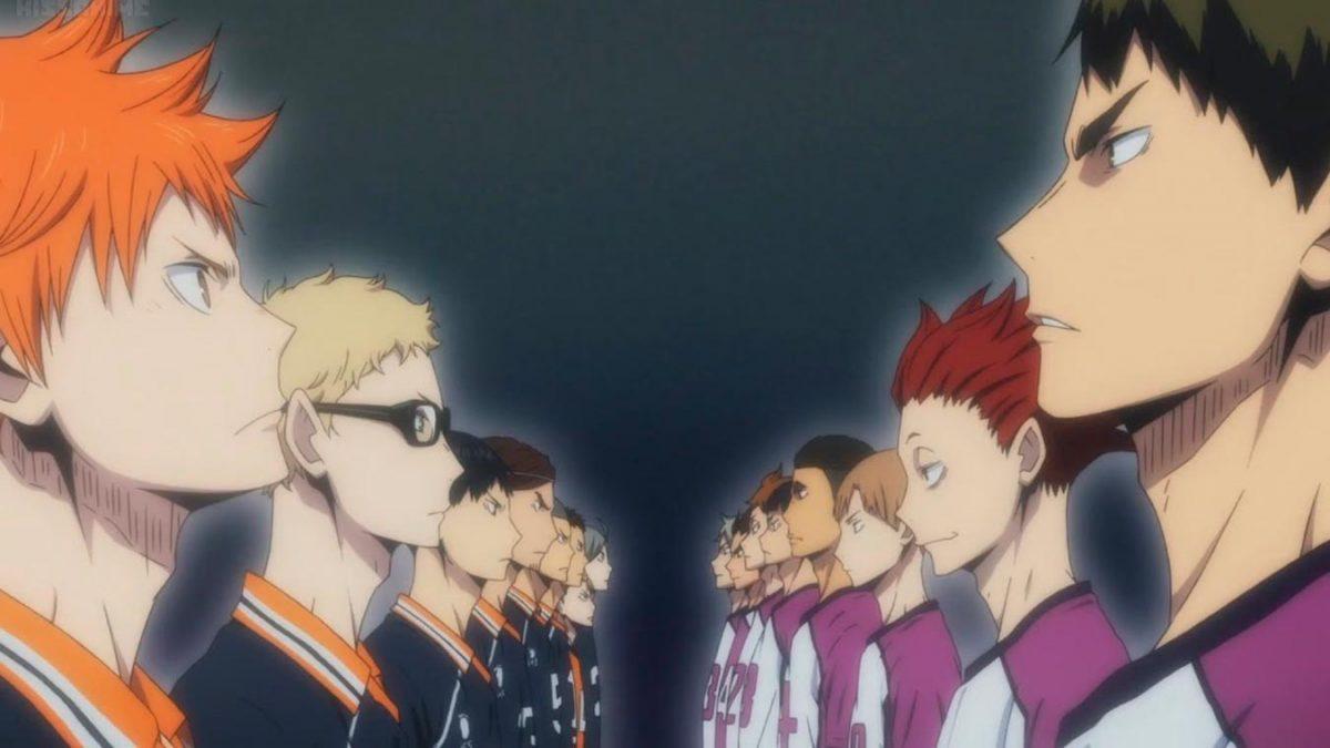 Los mejores animes Shounen (Haikyuu!!: Karasuno Koukou VS Shiratorizawa Gakuen Koukou)