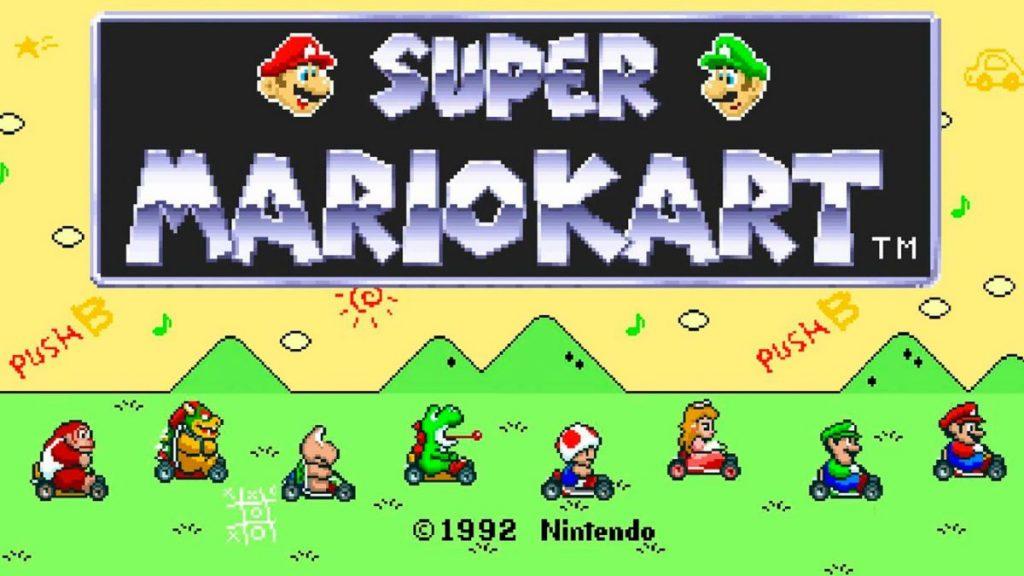 Los mejores videojuegos de deportes (Super Mario Kart)