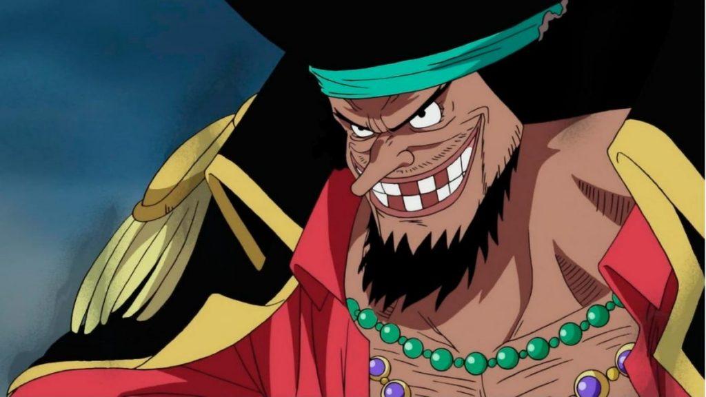 Los mejores villanos del anime (Marshall D. Teach)