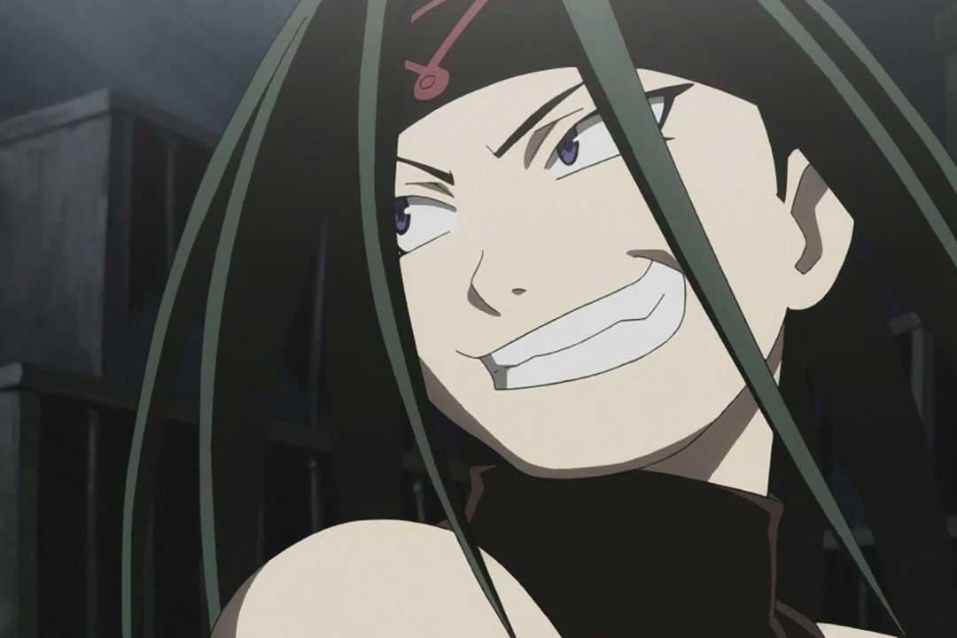 Los monstruos más grotescos del anime (Envy de Fullmetal Alchemist)