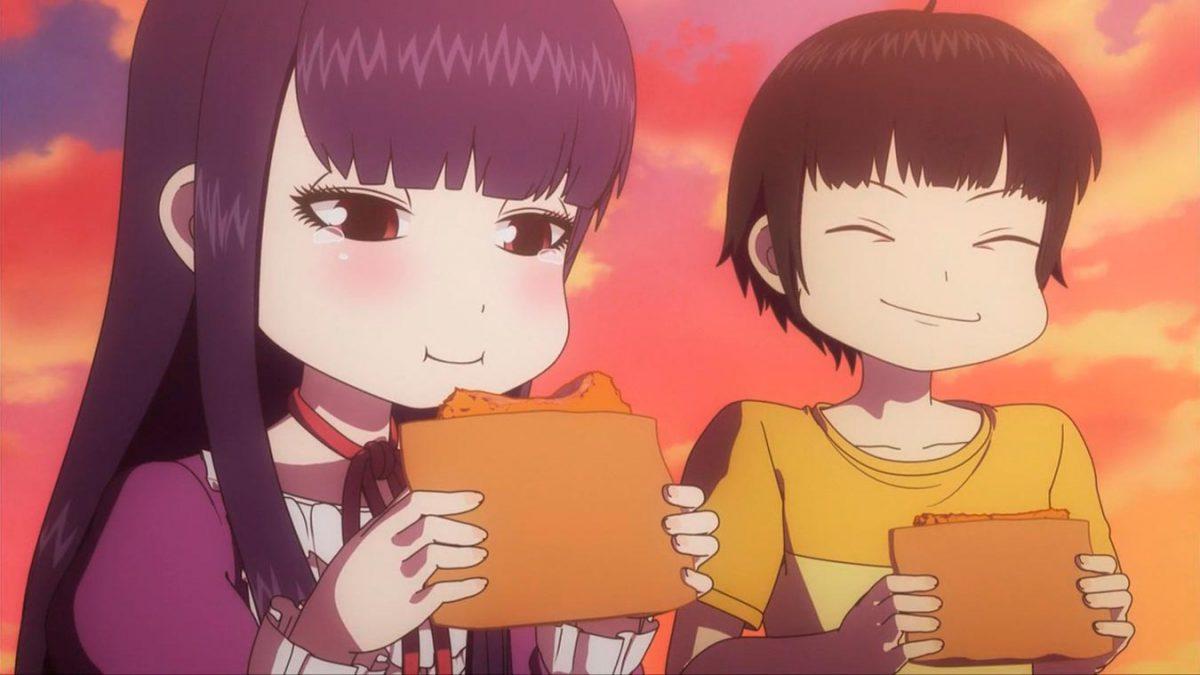 Los mejores animes de Comedia de 2018 (High Score Girl)