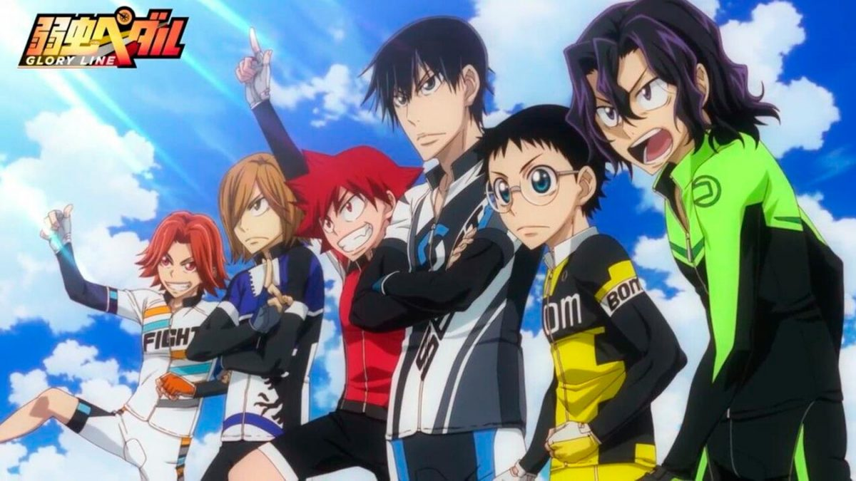 Los mejores animes de Deportes de 2018 (Yowamushi Pedal: Glory Line)