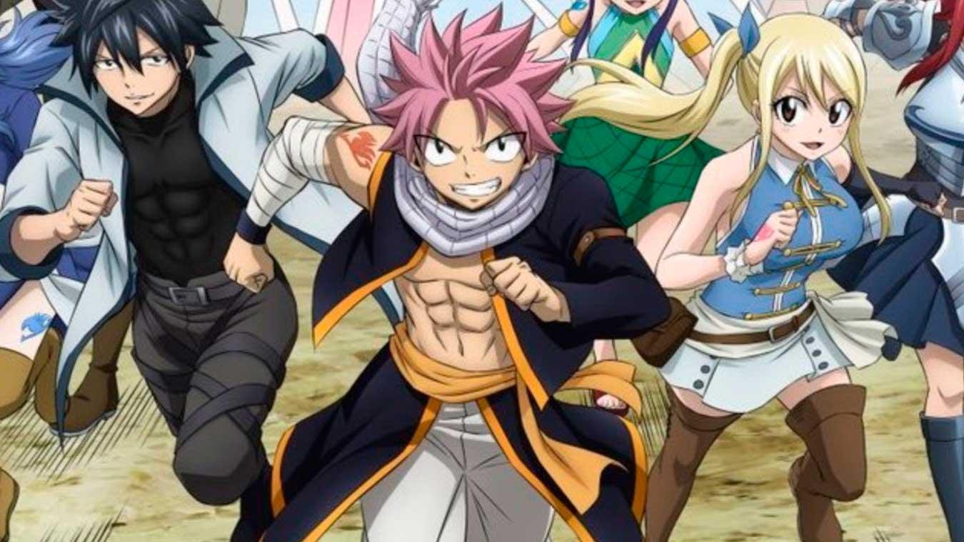 Los mejores animes de Magia de 2018 (Fairy Tail: Final Series)