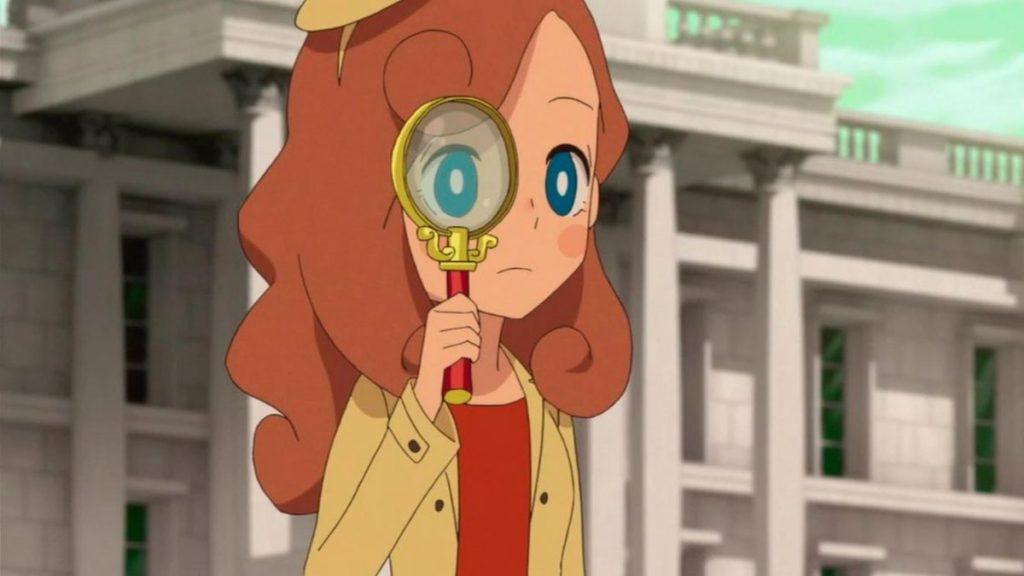 Los mejores animes de Misterio de 2018 (Layton Mystery Tanteisha: Katri no Nazotoki File)