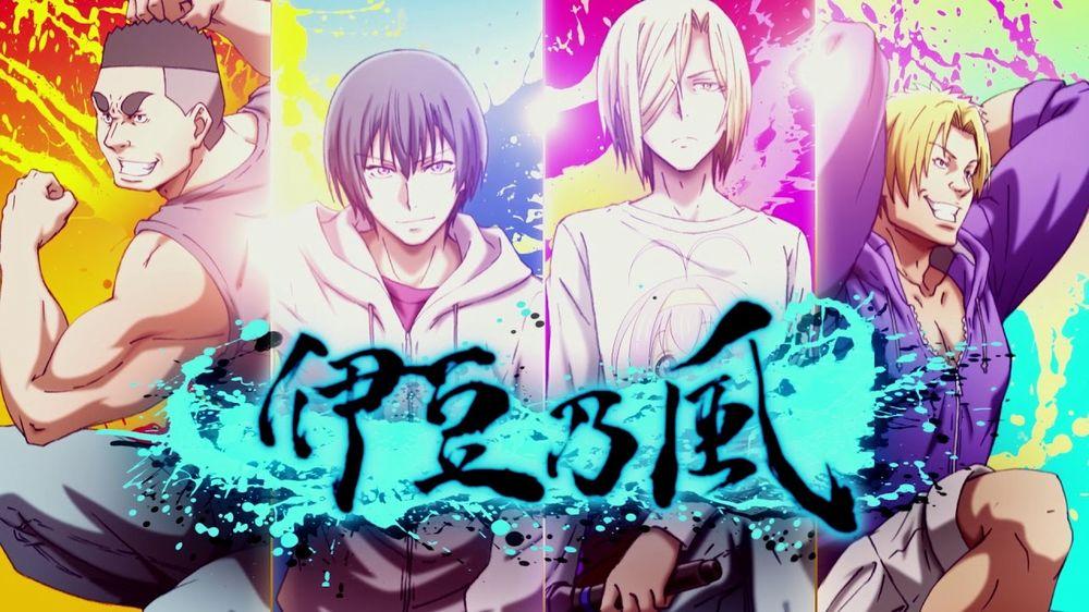 Los mejores animes Seinen de 2018 (Grand Blue)