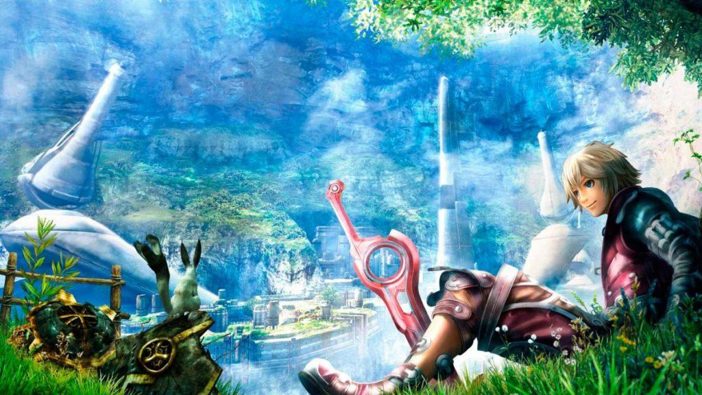 Los mejores videojuegos de Mechas (Xenoblade Chronicles)