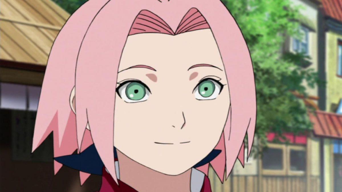 Los personajes mas débiles del anime (Sakura Haruno)