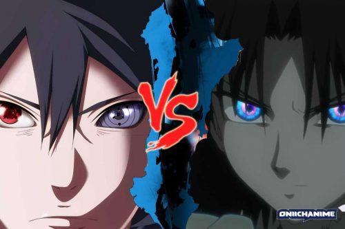 Sasuke Uchicha contra Shiki Ryougi (Naruto: Shippuden y Kara no Kyoukai 1: Fukan Fuukei)