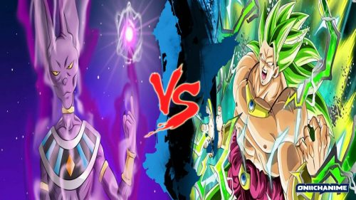 Beerus contra Broly (Dragon Ball Super)