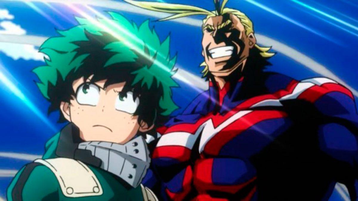 Los mejores animes de 2018 (Boku no Hero Academia 3rd Season)