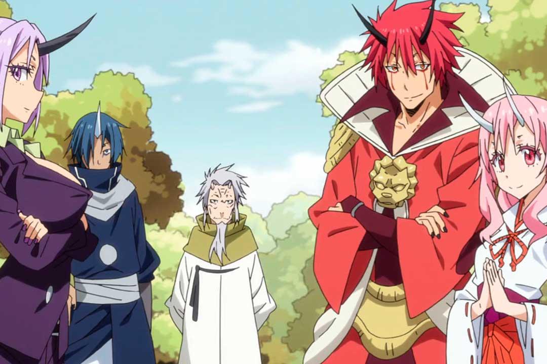 Los mejores animes de 2018 (Tensei shitara Slime Datta Ken)