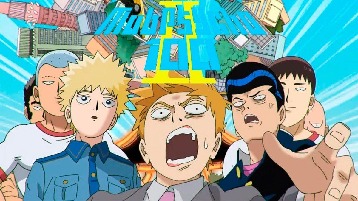 Los mejores animes de Acción Invierno 2019 (Mob Psycho 100 II)