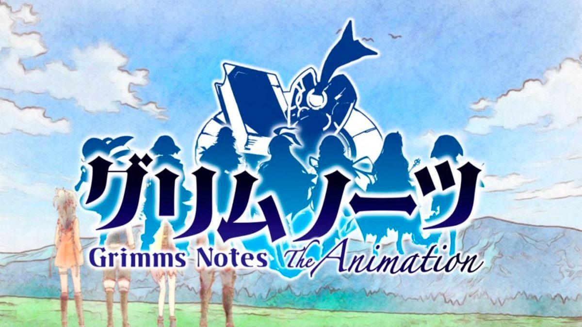 Los mejores animes de Magia Invierno 2019 (Grimms Notes The Animation)