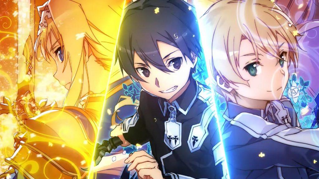 Los mejores animes de Romance del 2018 (Sword Art Online: Alicization)
