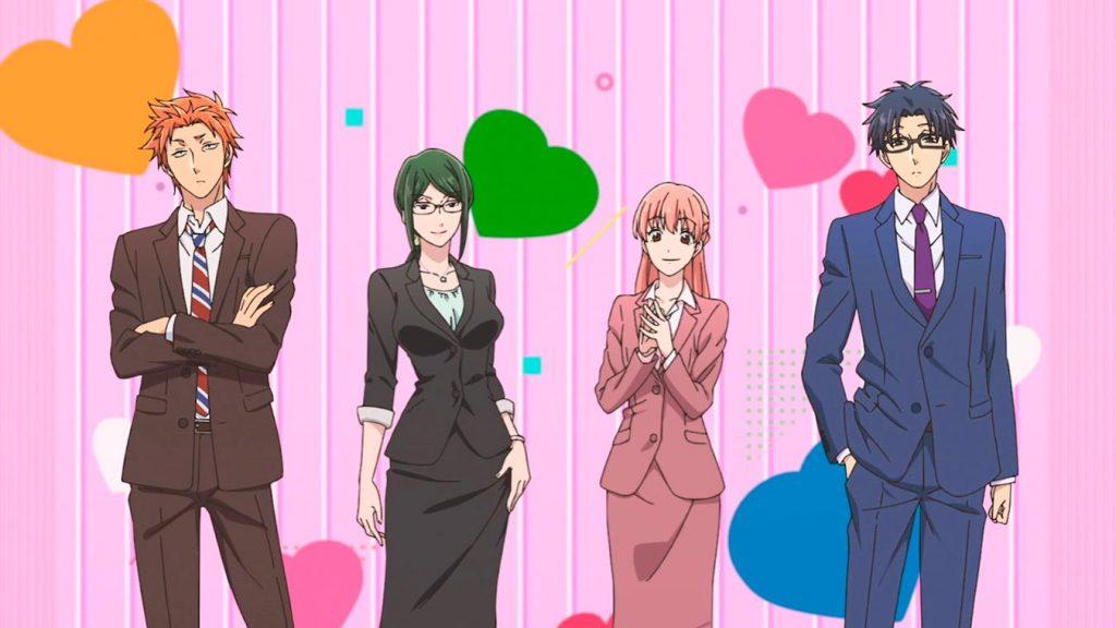 Los mejores animes de Romance del 2018 (Wotaku ni Koi wa Muzukashii)