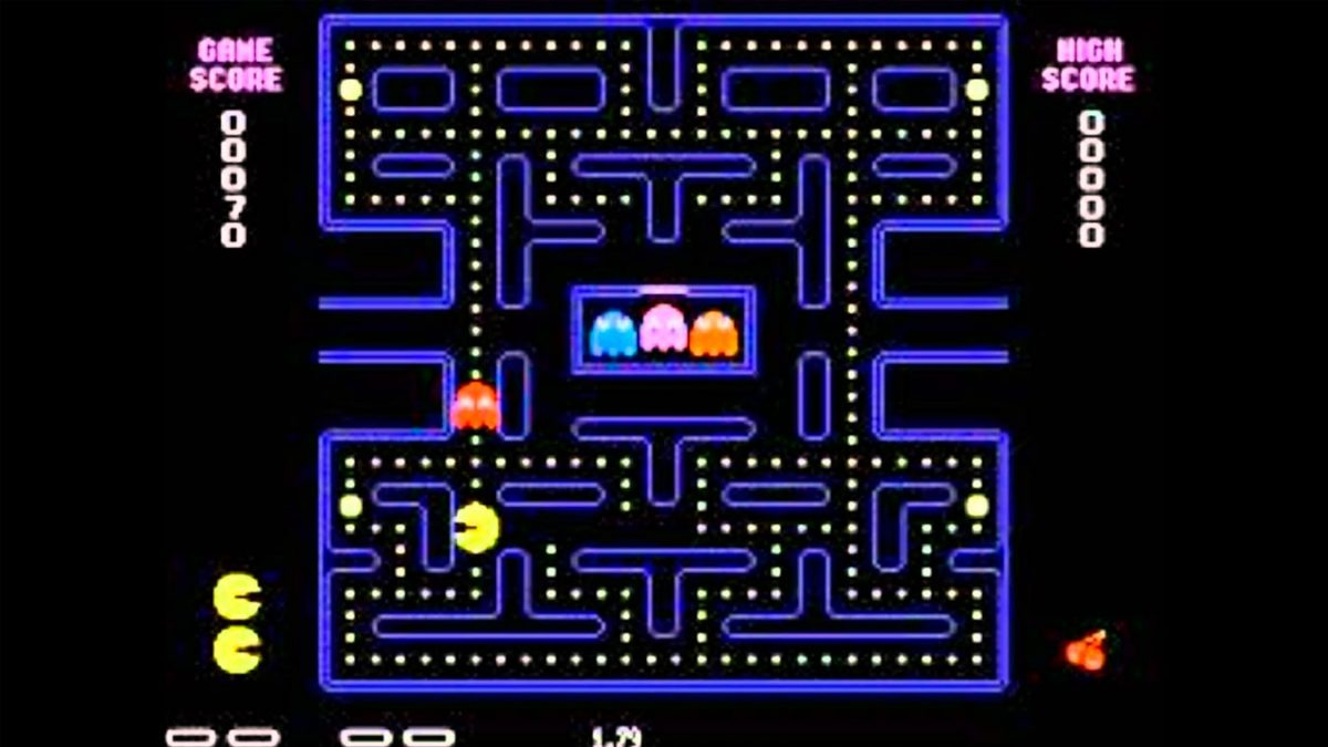 Los mejores videojuegos de fantasmas (Pac-Man)