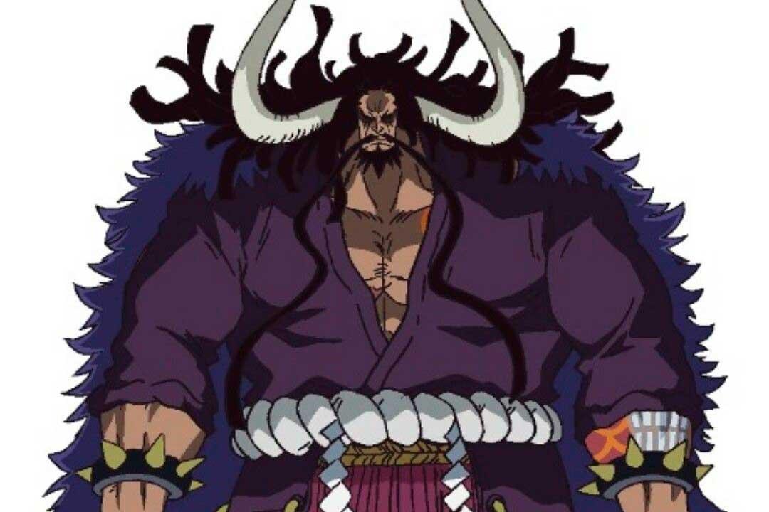 Los personajes más poderosos del anime (Kaidou de One Piece)