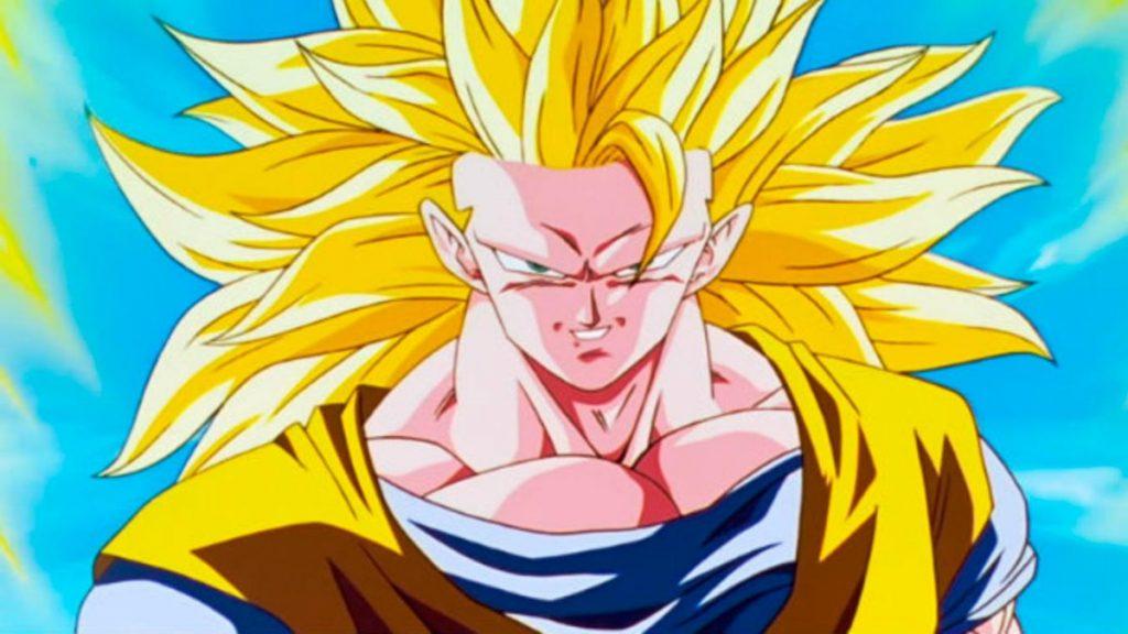 Los personajes más poderosos del anime (Gokú)