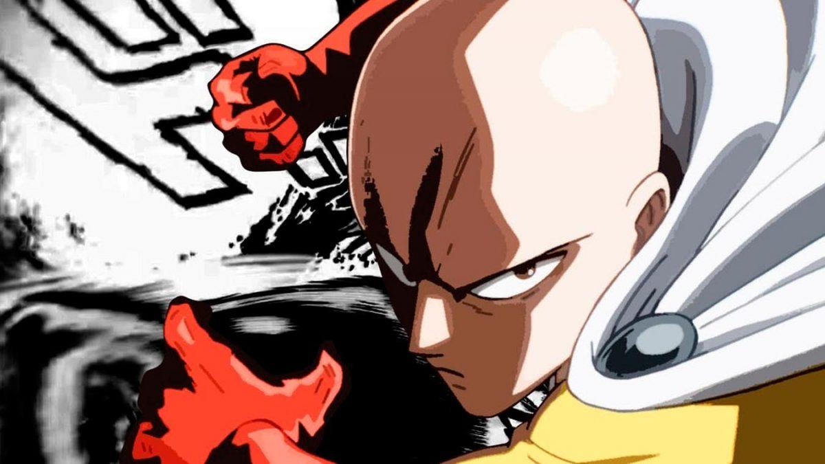 Los personajes más poderosos del anime (Saitama)