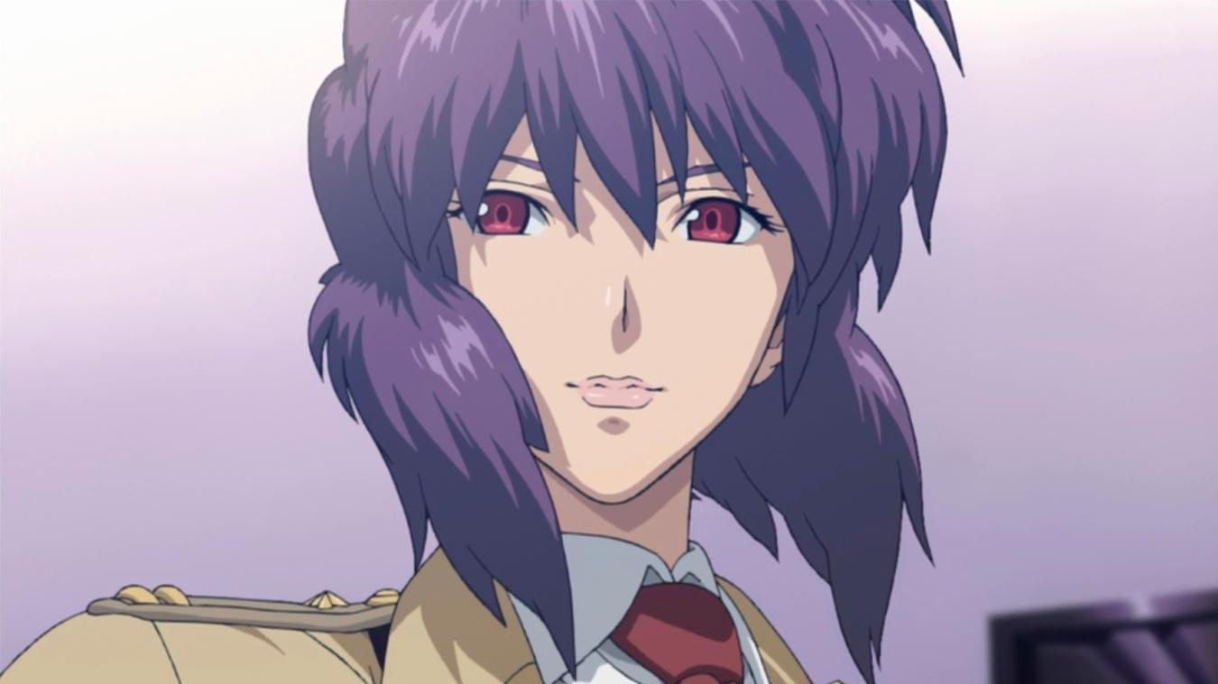 Los cyborgs más poderosos del anime (Motoko Kusanagi)