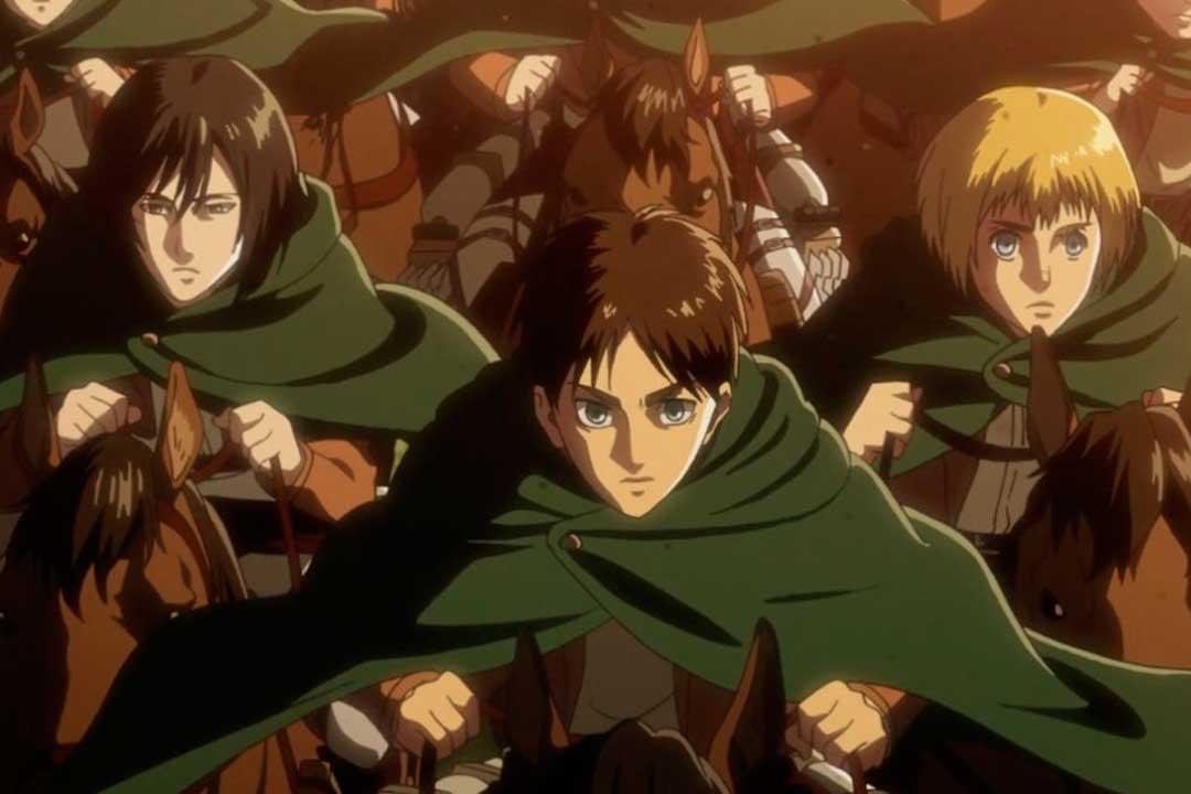 Los mejores animes Militar de 2018 (Shingeki no Kyojin Season 3 (Attack on Titan Season 3))