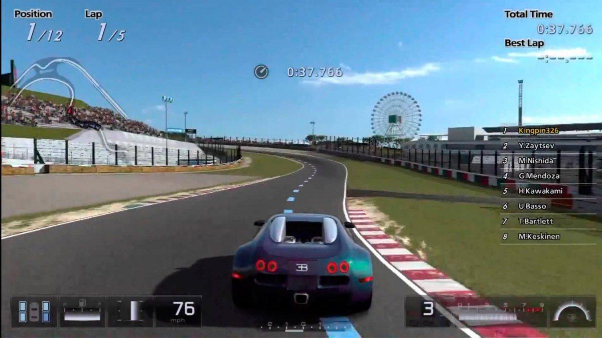 Los mejores videojuegos de carreras (Gran Turismo 5)