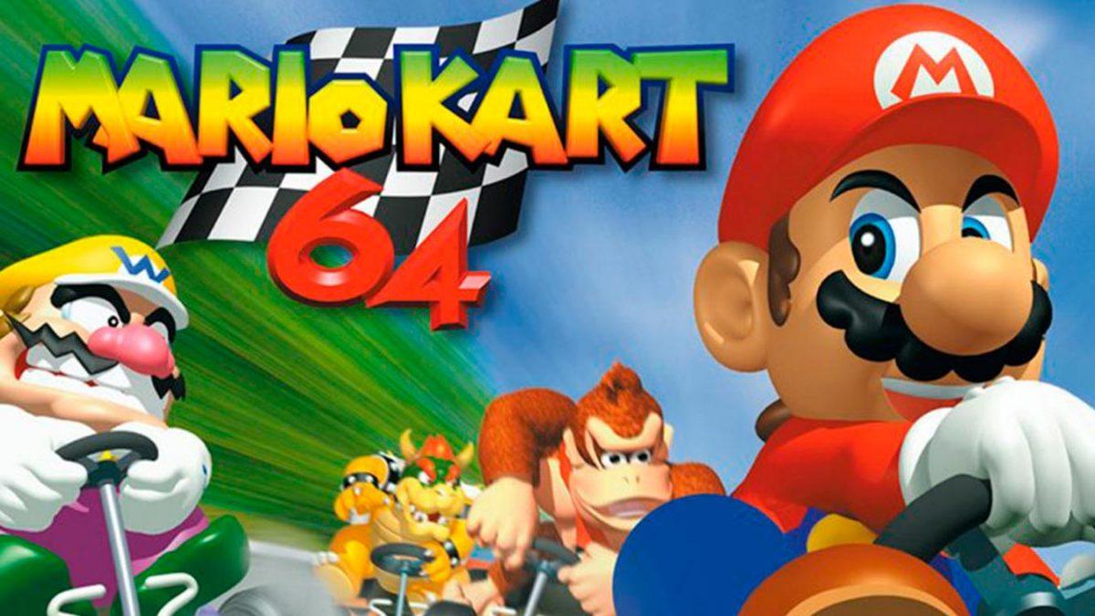 Los mejores videojuegos de carreras (Mario Kart 64)