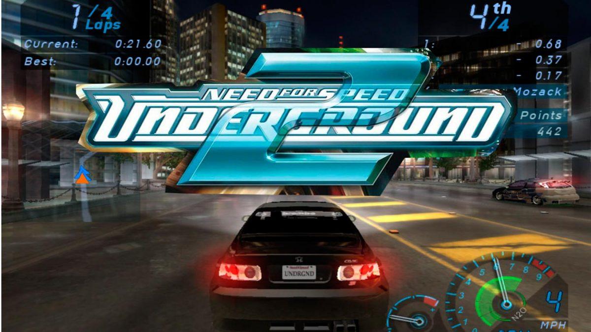 Los mejores videojuegos de carreras (Need for Speed Underground 2)