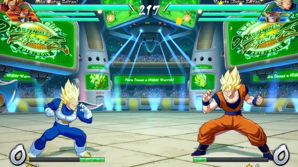 Los mejores videojuegos de Pelea de 2018 - Dragon Ball FighterZ