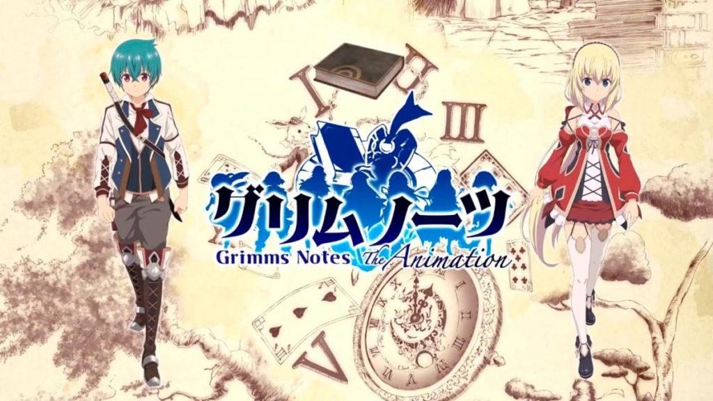Los mejores animes de Aventura Invierno 2019 (Grimms Notes The Animation)